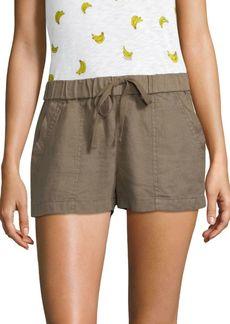 Joie Fosette Linen Shorts