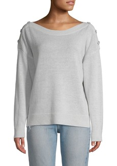 Joie Gadelle Linen Cotton Sweater