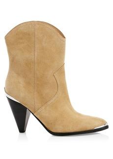 Joie Garner Suede Ankle Boots
