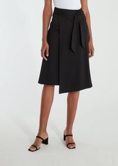 Joie Gino Asymmetrical Wrap Midi Skirt