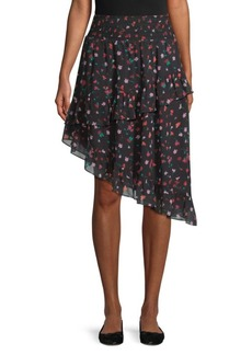 Joie Gorowen Asymmetric Skirt