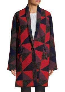 Joie Halana Geometric Coat