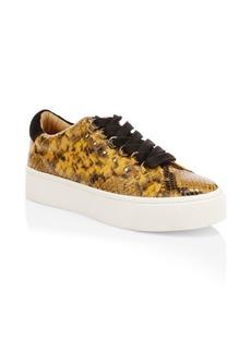 Joie Handan Snake Print Sneakers