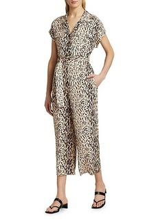 Joie Jailee Leopard Jumpsuit