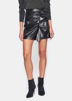 Joie Jain Faux Leather Skirt