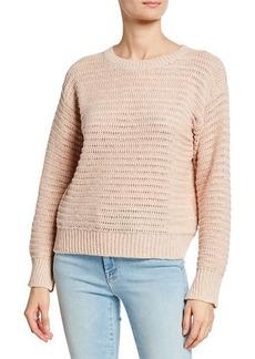 Joie Jayn Casual Crochet Sweater