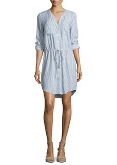 Soft Joie Cassina Striped Cotton Shirtdress