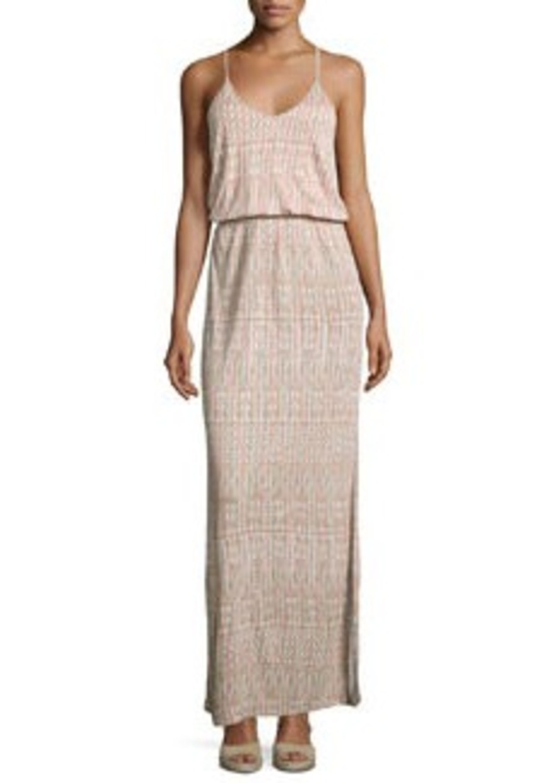 Joie Nahia Printed Blouson Maxi Dress