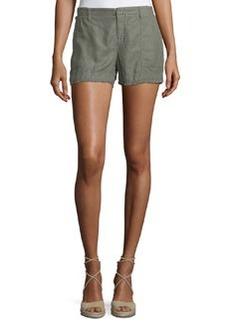 Joie Alek Linen-Blend Shorts