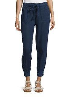 Joie Stuva Drawstring Linen Pants