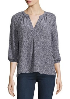 Joie Addie B Printed 3/4-Sleeve Blouse