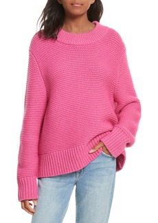 Joie Adeen Drop Shoulder Wool & Cashmere Sweater