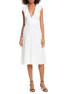Joie Adella Burnout Dress