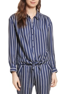 Joie Adiba Stripe Silk Shirt