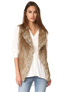 Joie Adoni Rabbit Fur Vest