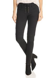 Joie Adorea Ankle Zip Jeans in Caviar