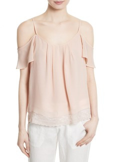 Joie Adorlee B Off the Shoulder Silk Top