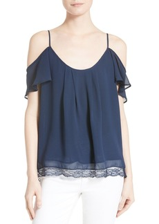 Joie Adorlee B Off the Shoulder Silk Top