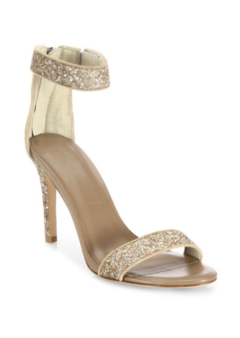 Joie Adrianna Glitter High Heel Sandals
