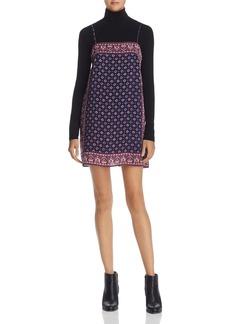 Joie Adryel Printed Mini Dress