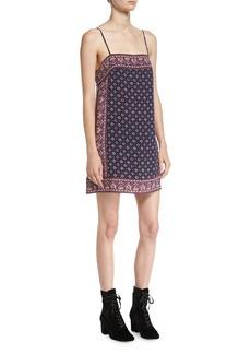Joie Adryel Sleeveless Printed Slip Dress