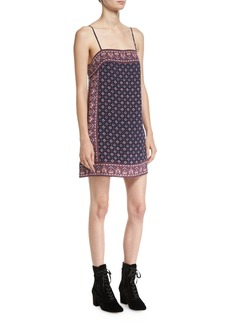 Joie Adryel Sleeveless Printed Slip Dress