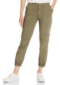Joie Aerial Cropped Zip-Pocket Pants