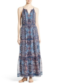 Joie Agnece Silk Maxi Dress