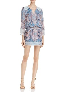 Joie Aidee Printed Silk Dress
