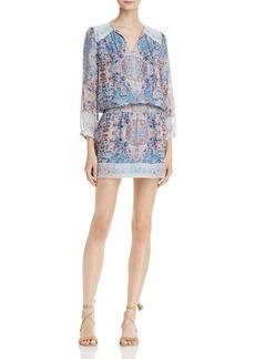 Joie Aidee Printed Silk Dress