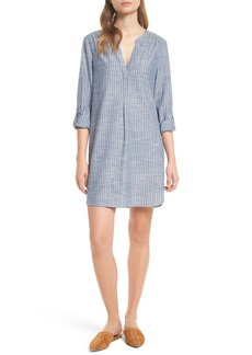 Joie Alannie Stripe Cotton Shift Dress