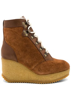 Joie Alary Wedge in Cognac. - size 38 (also in 36,37,39)