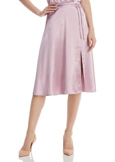 Joie Alberic Satin Skirt