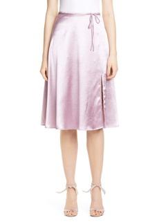 Joie Alberic Satin Skirt