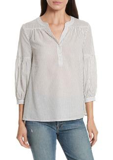 Joie Aldys Stripe Cotton Top
