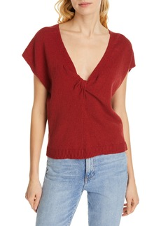 Joie Alenah Twist V-Neck Sweater