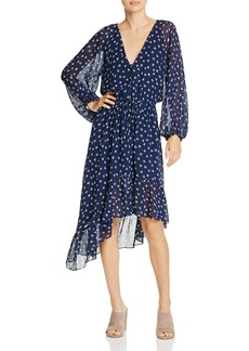Joie Alithea Printed Silk Dress