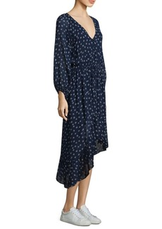 Joie Alithea Quiet Silk Popover Dress