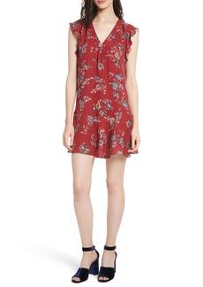 Joie Almarie Floral Silk Mindress