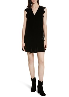 Joie Almarie Velvet Shift Dress