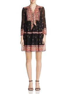 Joie Alpina Printed Silk Dress