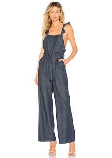 Joie Alvina B Denim Jumpsuit