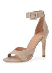 Joie Alvita Suede Ankle-Wrap Sandal