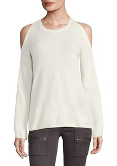 Joie Amalyn Cold-Shoulder Sweater