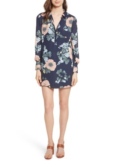 Joie Amaranda Print Silk Shirtdress