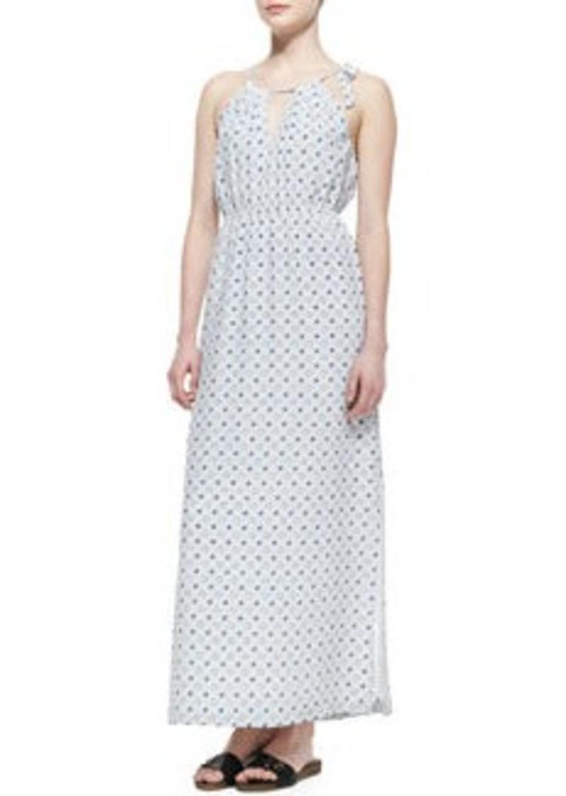 Joie Amaretta Printed Silk Maxi Dress