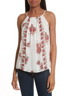 Joie Amarey J Floral Silk Tank