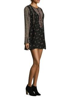 Joie Amaryn Ruffled Silk Dress