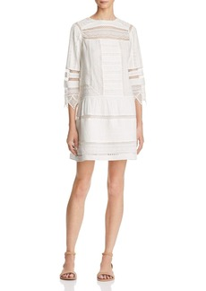 Joie Amberly Lace Shift Dress