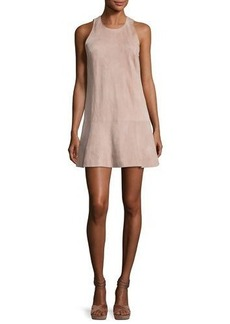 Joie Amedia Suede Sleeveless Mini Dress